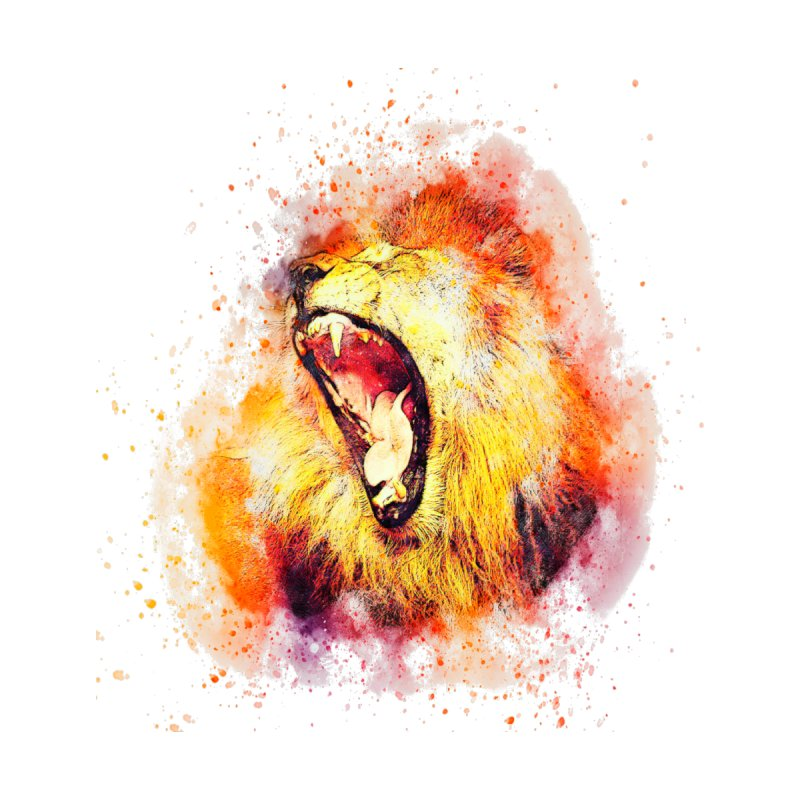 Let Them Hear You Roar Men's Tank by Divinitium's Clothing and Apparel