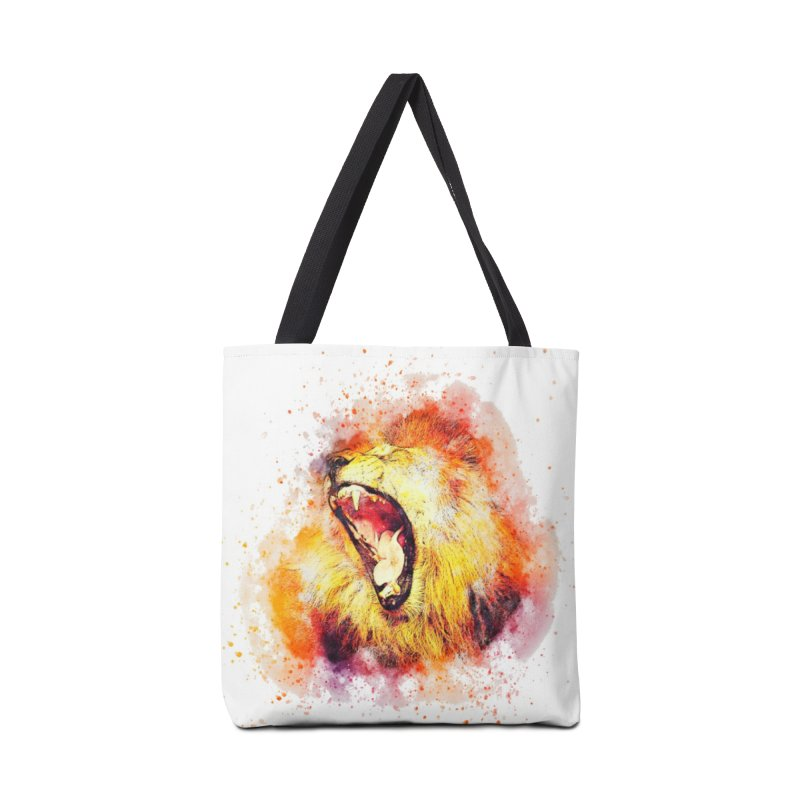 Let Them Hear You Roar Accessories Bag by Divinitium's Clothing and Apparel