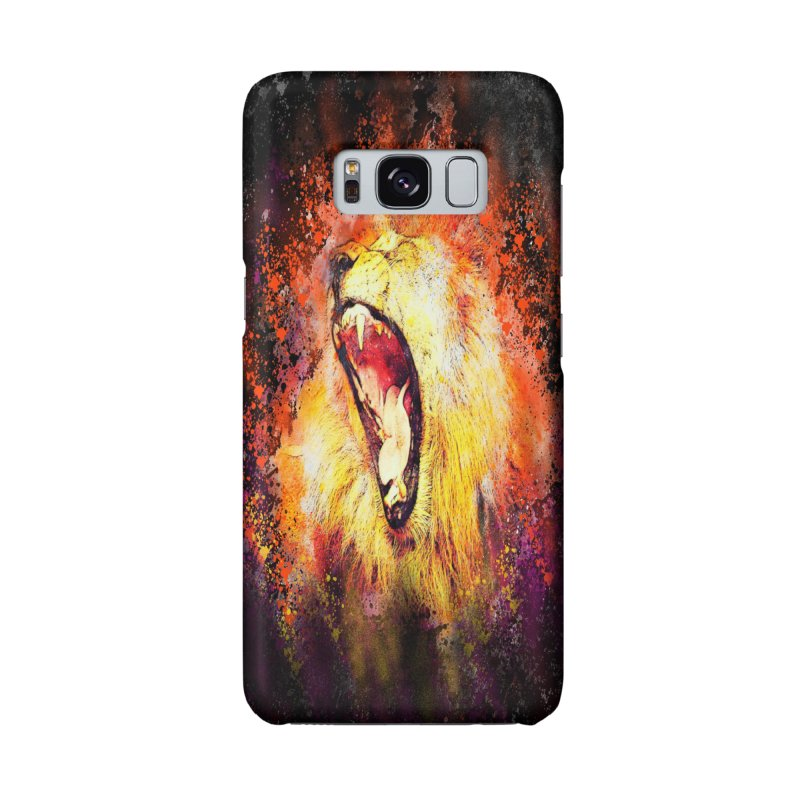 Let Them Hear You Roar (Black) Accessories Phone Case by Divinitium's Clothing and Apparel