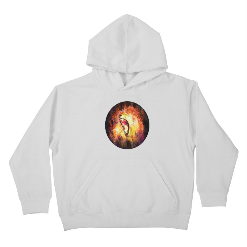 Let Them Hear You Roar (Black) Kids Pullover Hoody by Divinitium's Clothing and Apparel