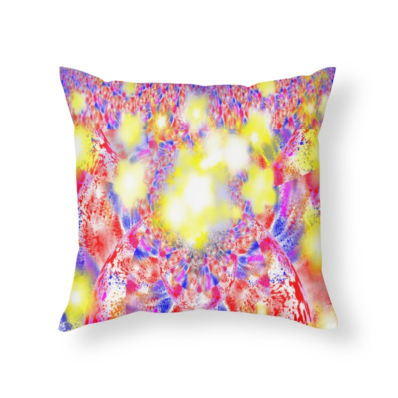 Ascension Home Throw Pillow by Divinitium's Clothing and Apparel