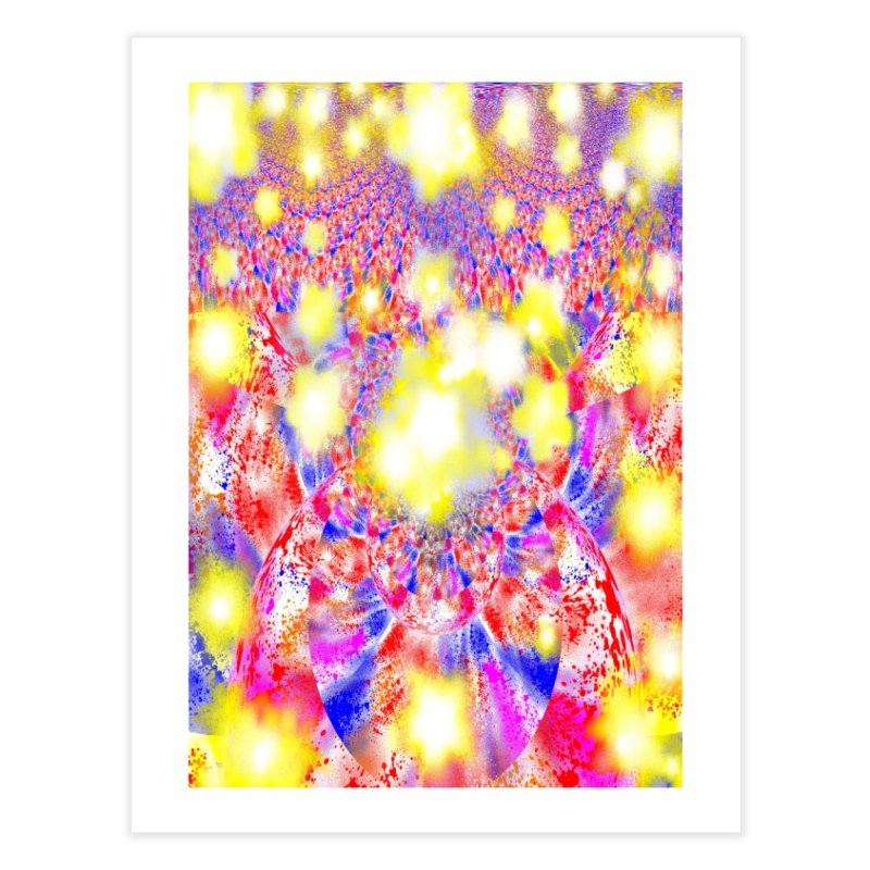 Ascension Home Fine Art Print by Divinitium's Clothing and Apparel