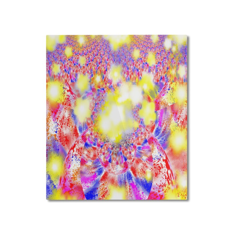 Ascension Home Mounted Aluminum Print by Divinitium's Clothing and Apparel