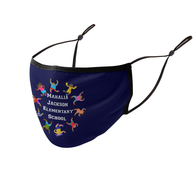 Mahalia Jackson Kids Accessories Face Mask by Divinitium's Clothing and Apparel