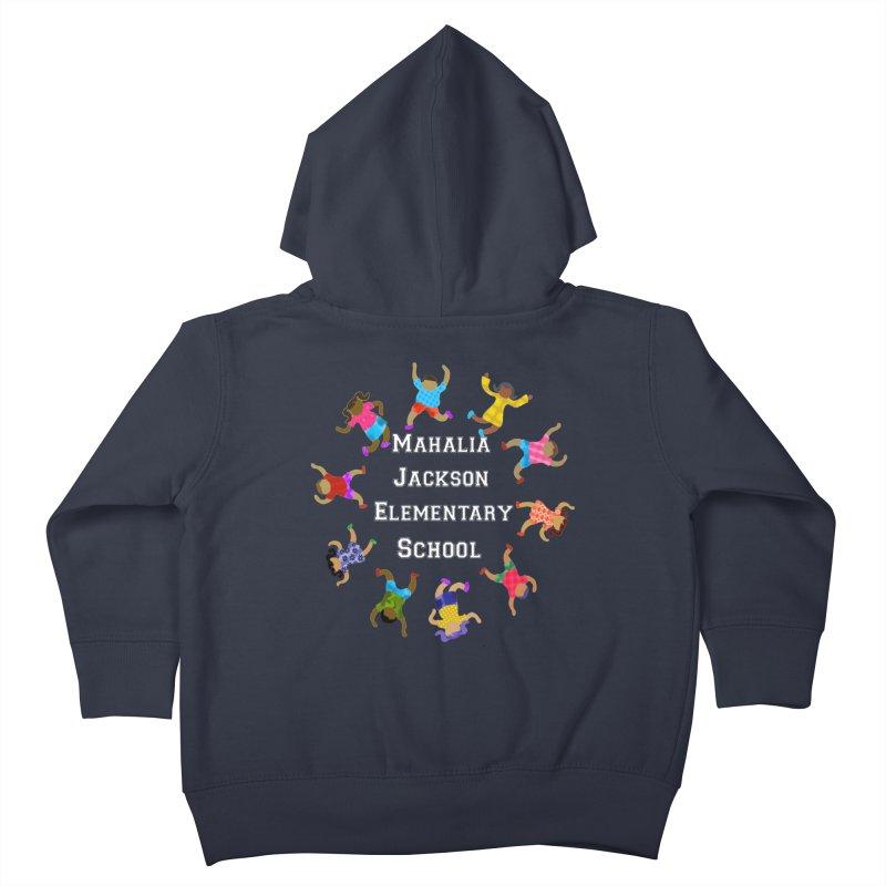 Mahalia Jackson Kids Kids Toddler Zip-Up Hoody by Divinitium's Clothing and Apparel