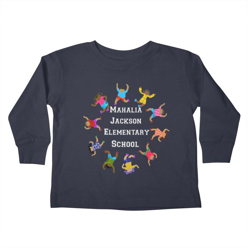 Mahalia Jackson Kids Kids Toddler Longsleeve T-Shirt by Divinitium's Clothing and Apparel