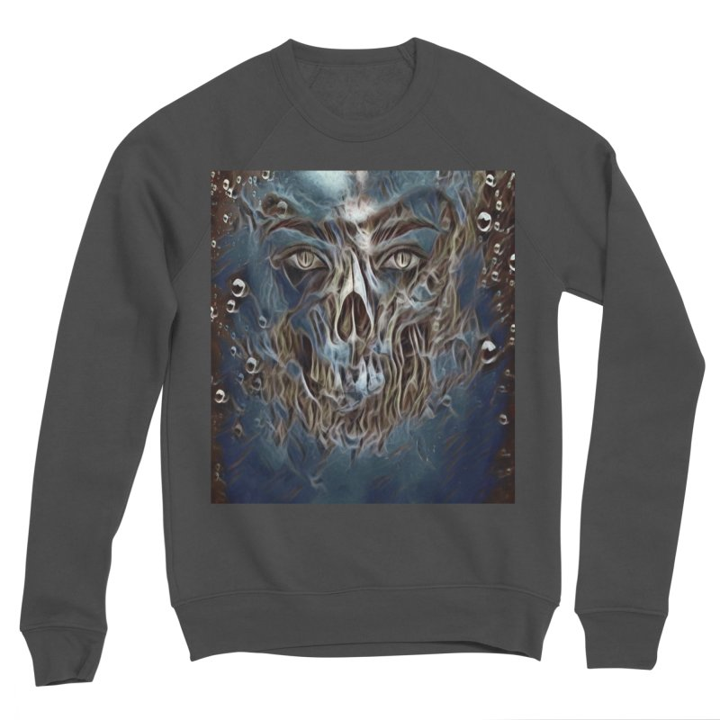Abyss Men's Sponge Fleece Sweatshirt by Divinitium's Clothing and Apparel