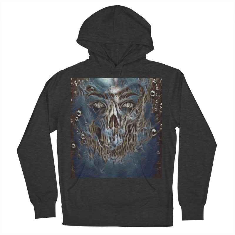 Abyss Men's French Terry Pullover Hoody by Divinitium's Clothing and Apparel