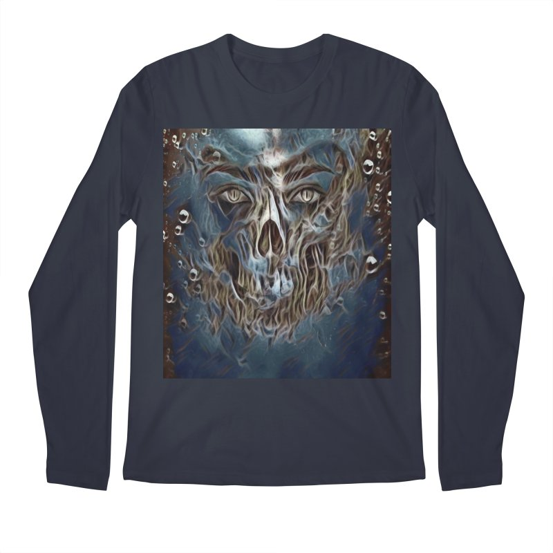 Abyss Men's Regular Longsleeve T-Shirt by Divinitium's Clothing and Apparel