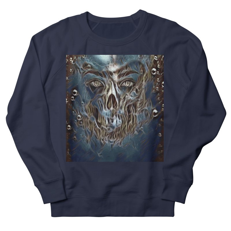 Abyss Men's French Terry Sweatshirt by Divinitium's Clothing and Apparel