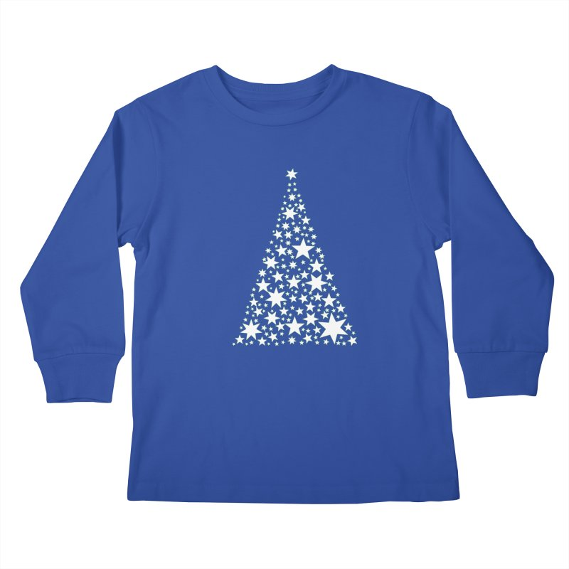 O' Starry Night Kids Longsleeve T-Shirt by Divinitium's Clothing and Apparel