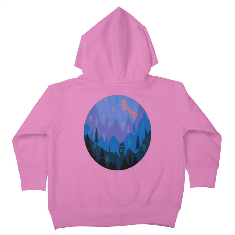 Winter Star Kids Toddler Zip-Up Hoody by Divinitium's Clothing and Apparel