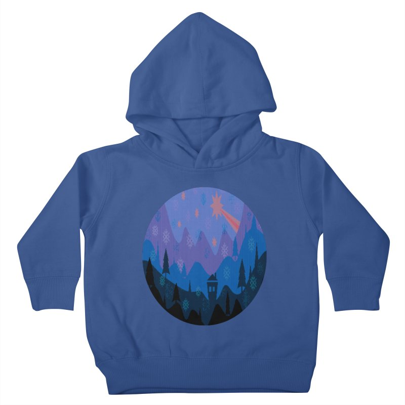 Winter Star Kids Toddler Pullover Hoody by Divinitium's Clothing and Apparel