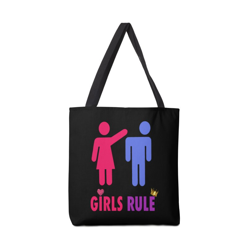 Girls Rule Accessories Bag by Divinitium's Clothing and Apparel