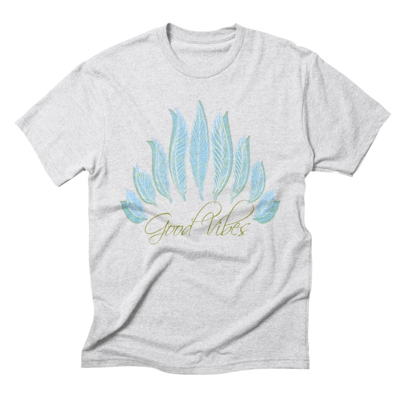Good Vibes Men's Triblend T-Shirt by Divinitium's Clothing and Apparel