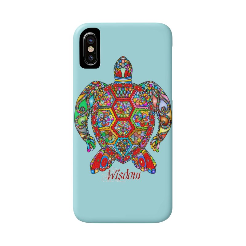 Wisdom Accessories Phone Case by Divinitium's Clothing and Apparel