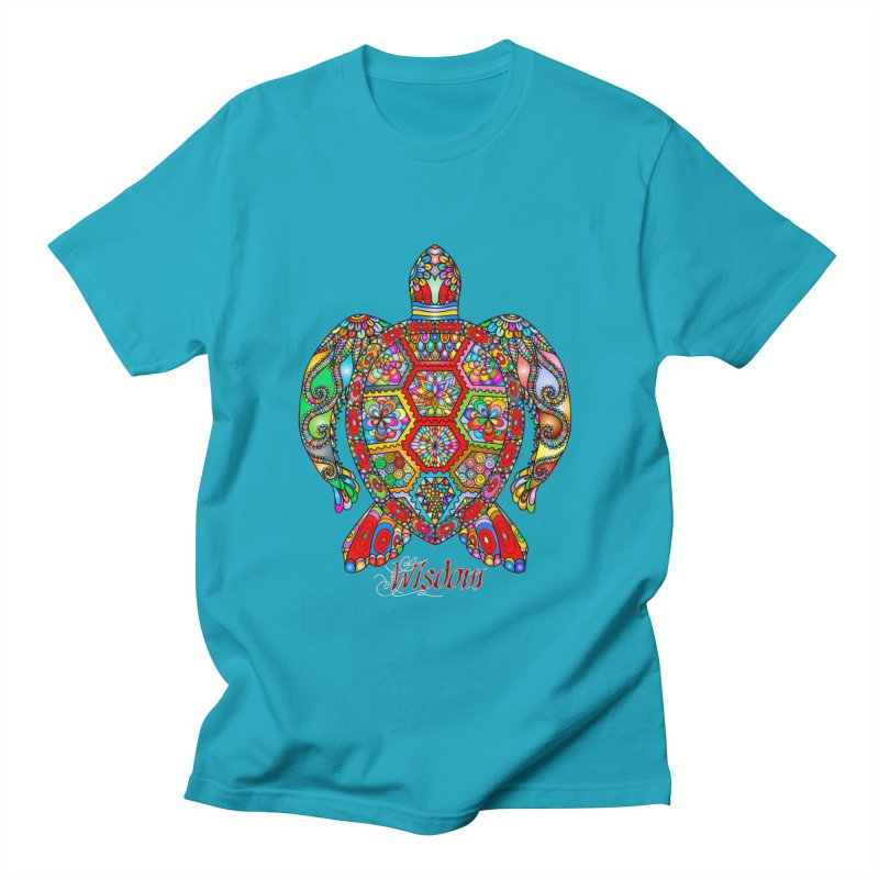 Wisdom Men's T-Shirt by Divinitium's Clothing and Apparel
