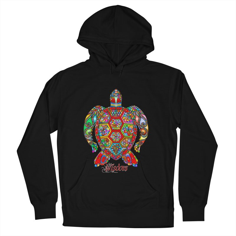 Wisdom Men's French Terry Pullover Hoody by Divinitium's Clothing and Apparel