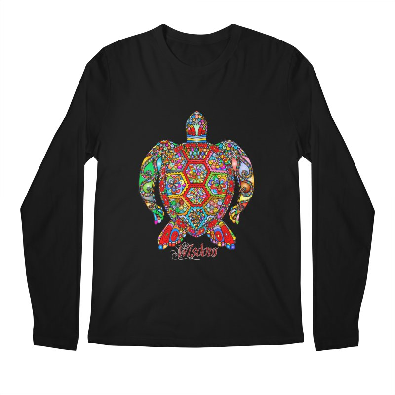 Wisdom Men's Regular Longsleeve T-Shirt by Divinitium's Clothing and Apparel