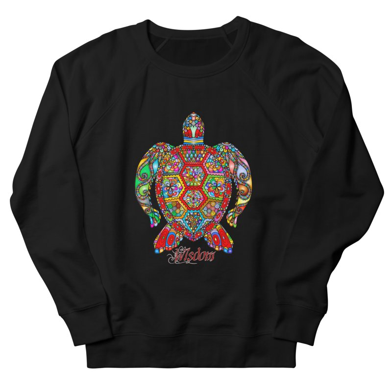 Wisdom Men's French Terry Sweatshirt by Divinitium's Clothing and Apparel