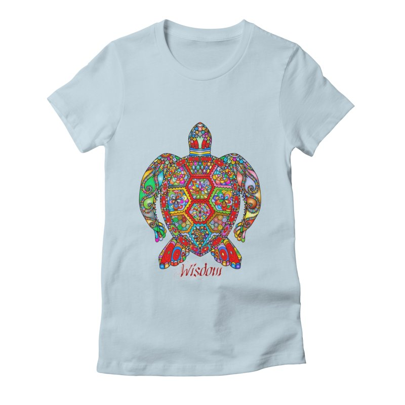 Wisdom Women's T-Shirt by Divinitium's Clothing and Apparel