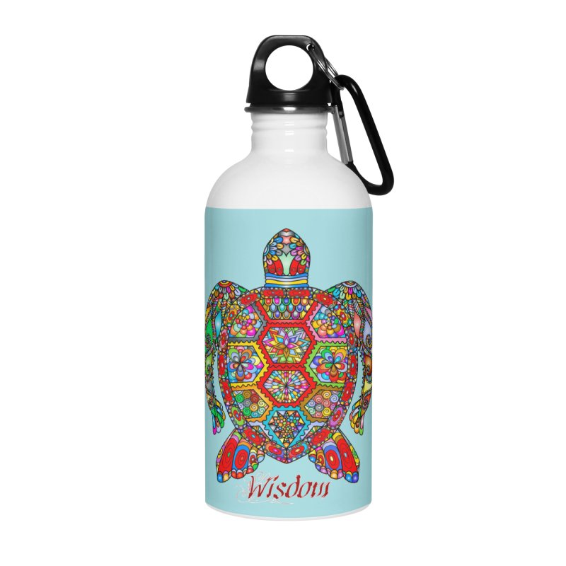 Wisdom Accessories Water Bottle by Divinitium's Clothing and Apparel
