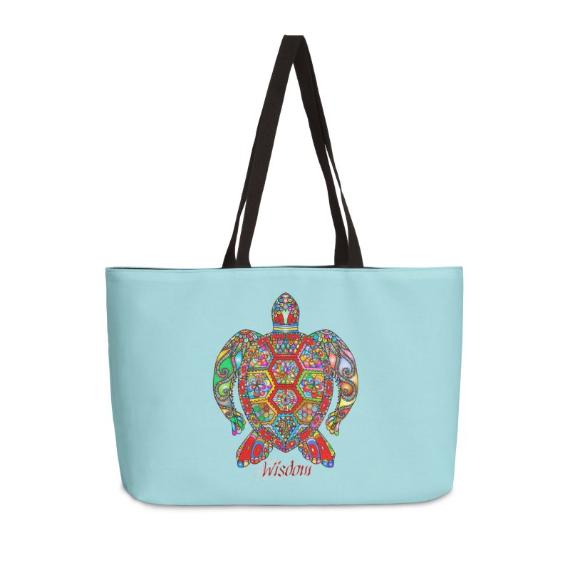 Wisdom Accessories Weekender Bag Bag by Divinitium's Clothing and Apparel