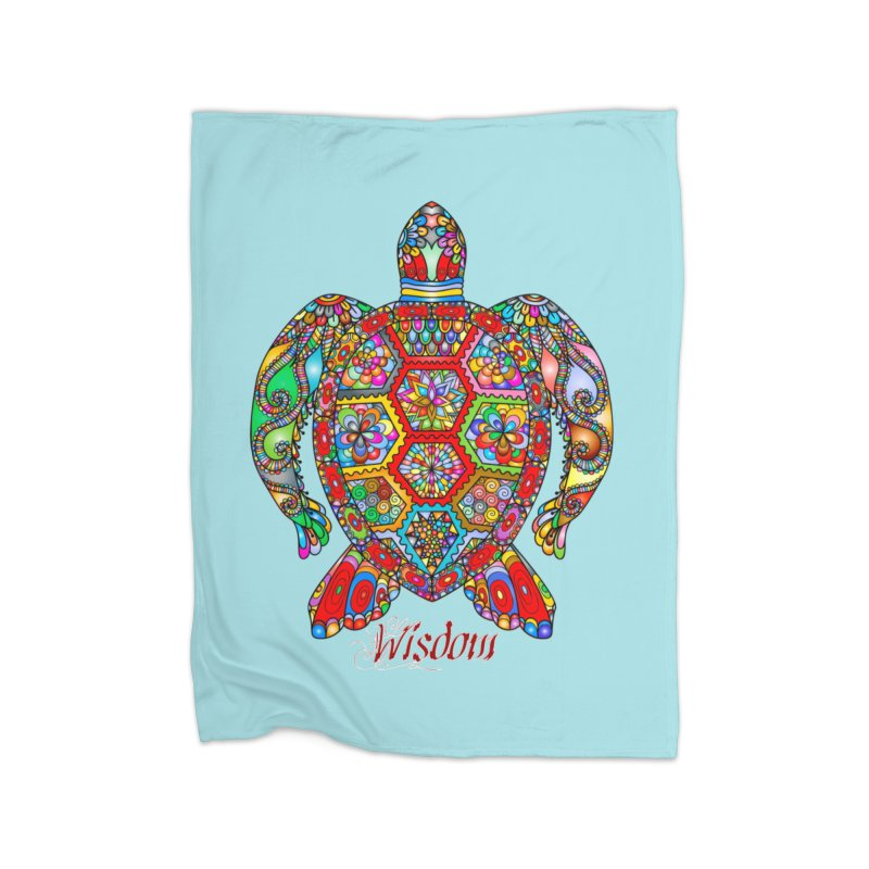 Wisdom Home Blanket by Divinitium's Clothing and Apparel