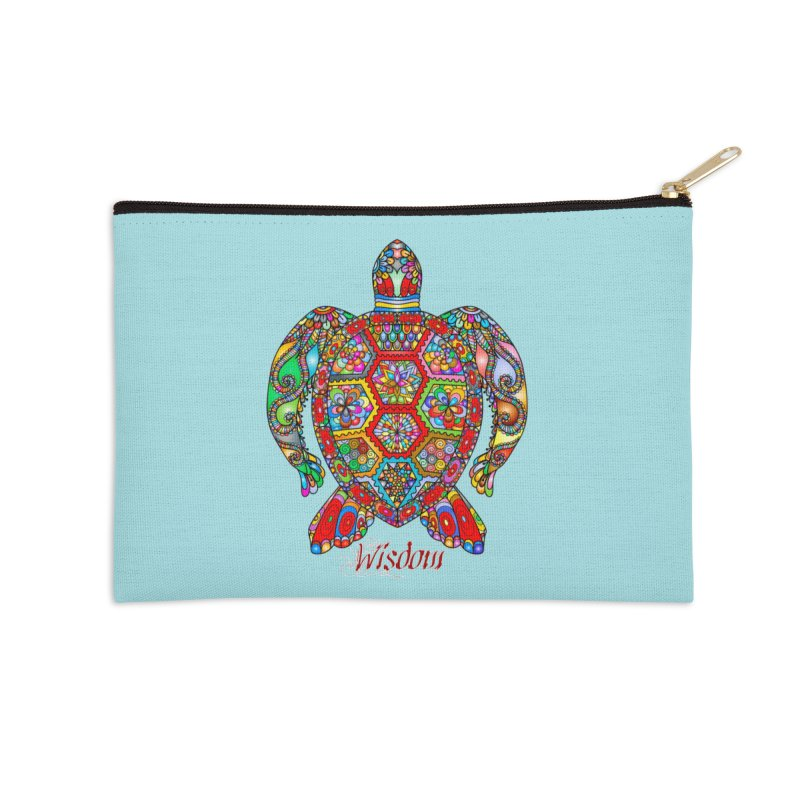 Wisdom Accessories Zip Pouch by Divinitium's Clothing and Apparel
