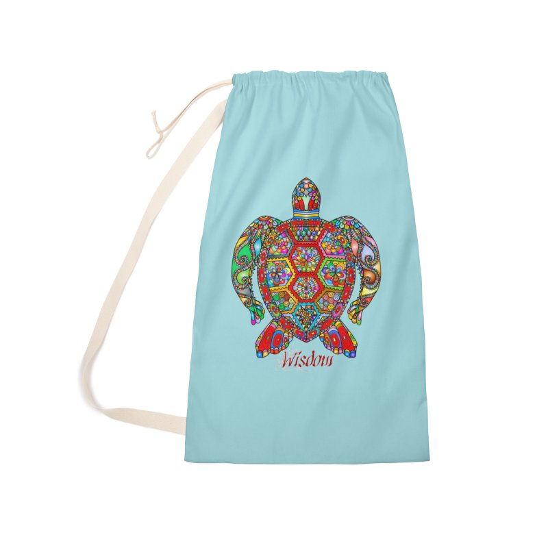 Wisdom Accessories Laundry Bag Bag by Divinitium's Clothing and Apparel