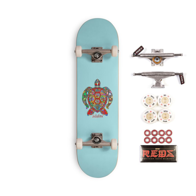 Wisdom Accessories Complete - Pro Skateboard by Divinitium's Clothing and Apparel
