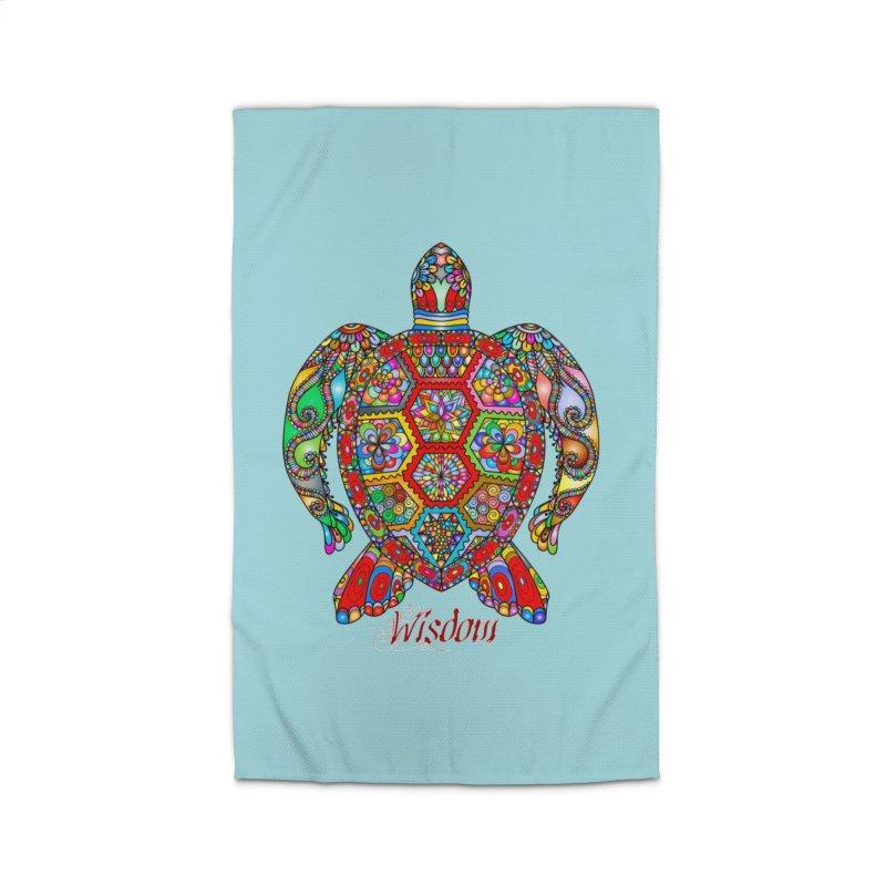 Wisdom Home Rug by Divinitium's Clothing and Apparel