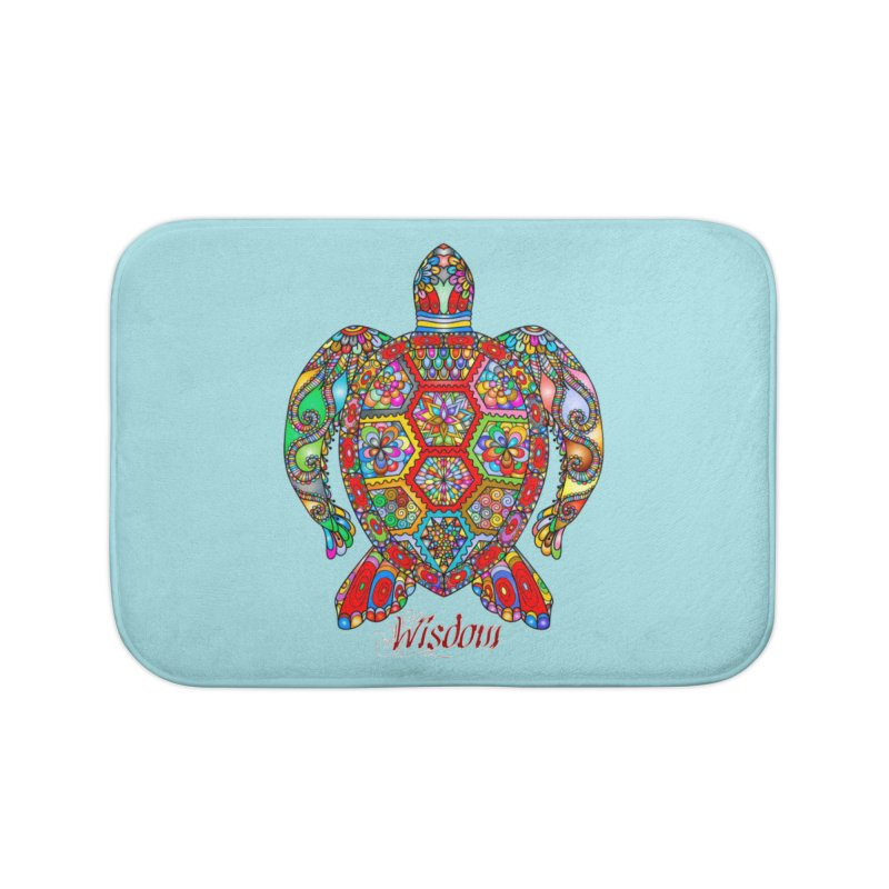 Wisdom Home Bath Mat by Divinitium's Clothing and Apparel