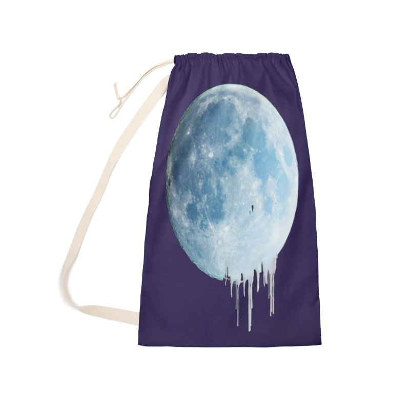 Moon Drops Accessories Laundry Bag Bag by Divinitium's Clothing and Apparel