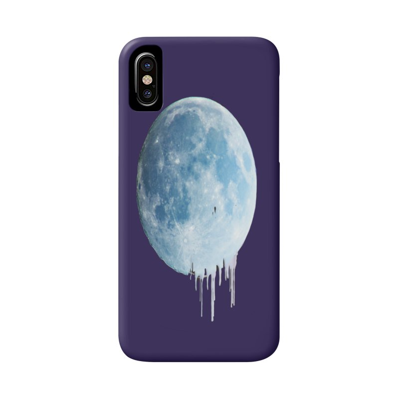 Moon Drops Accessories Phone Case by Divinitium's Clothing and Apparel