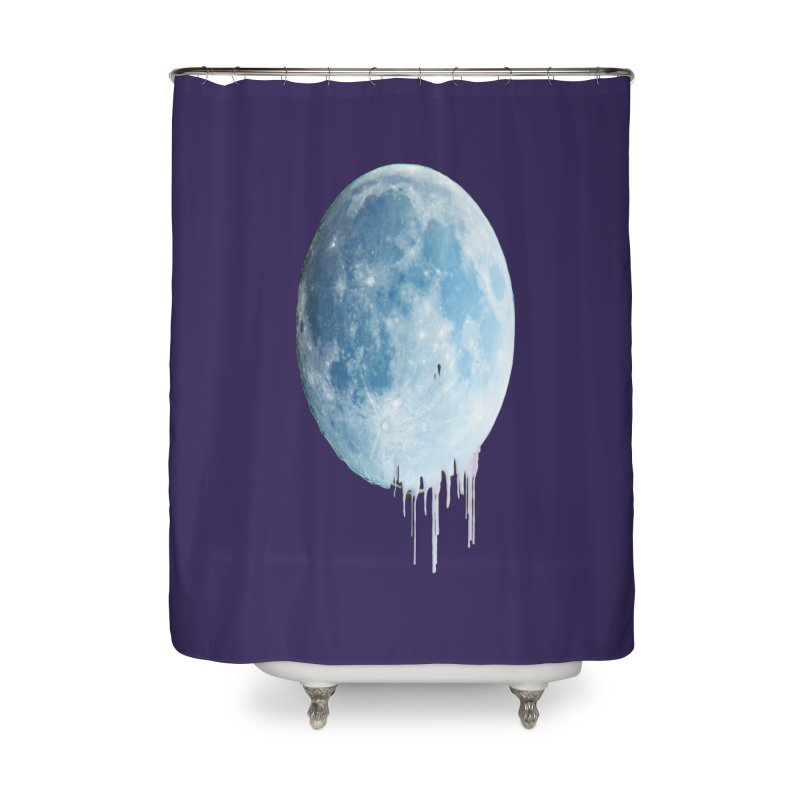 Moon Drops Home Shower Curtain by Divinitium's Clothing and Apparel