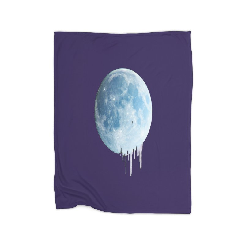 Moon Drops Home Blanket by Divinitium's Clothing and Apparel