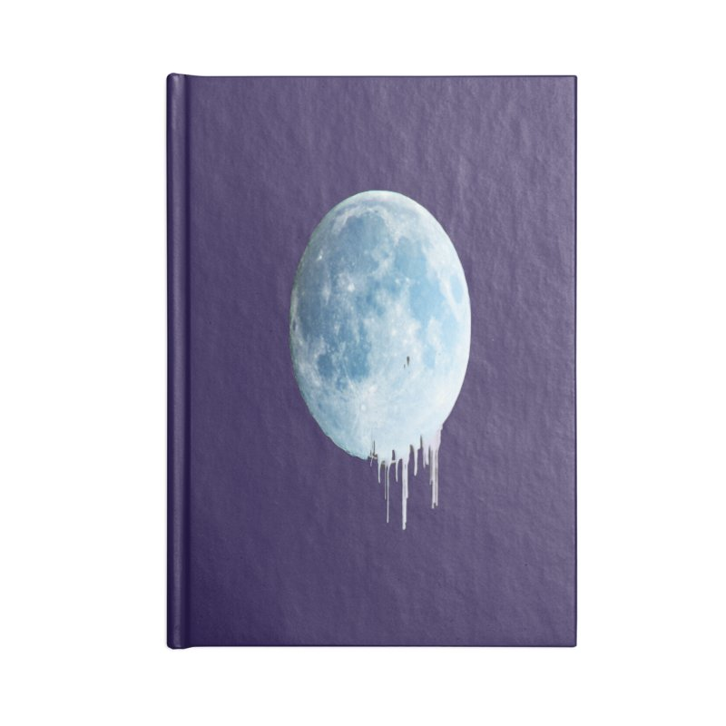 Moon Drops Accessories Notebook by Divinitium's Clothing and Apparel