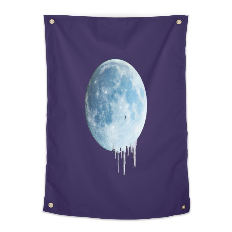 Moon Drops Home Tapestry by Divinitium's Clothing and Apparel