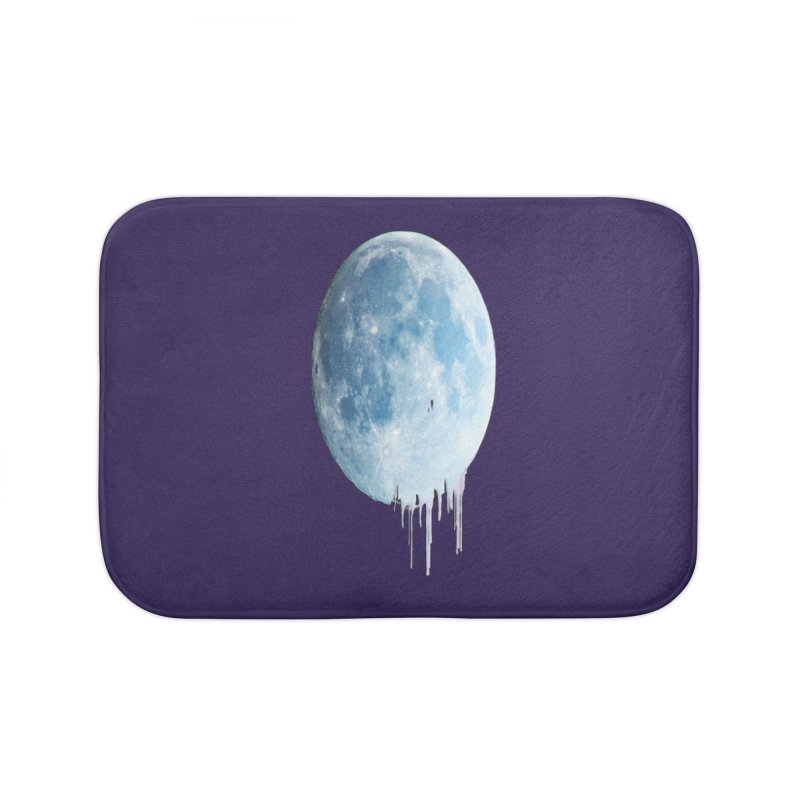 Moon Drops Home Bath Mat by Divinitium's Clothing and Apparel
