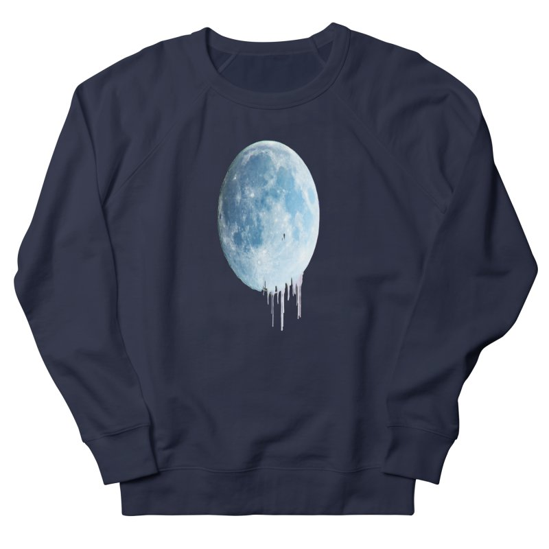 Moon Drops Men's French Terry Sweatshirt by Divinitium's Clothing and Apparel