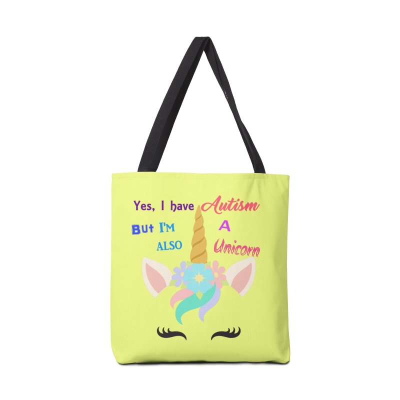 Autism Unicorn Accessories Bag by Divinitium's Clothing and Apparel