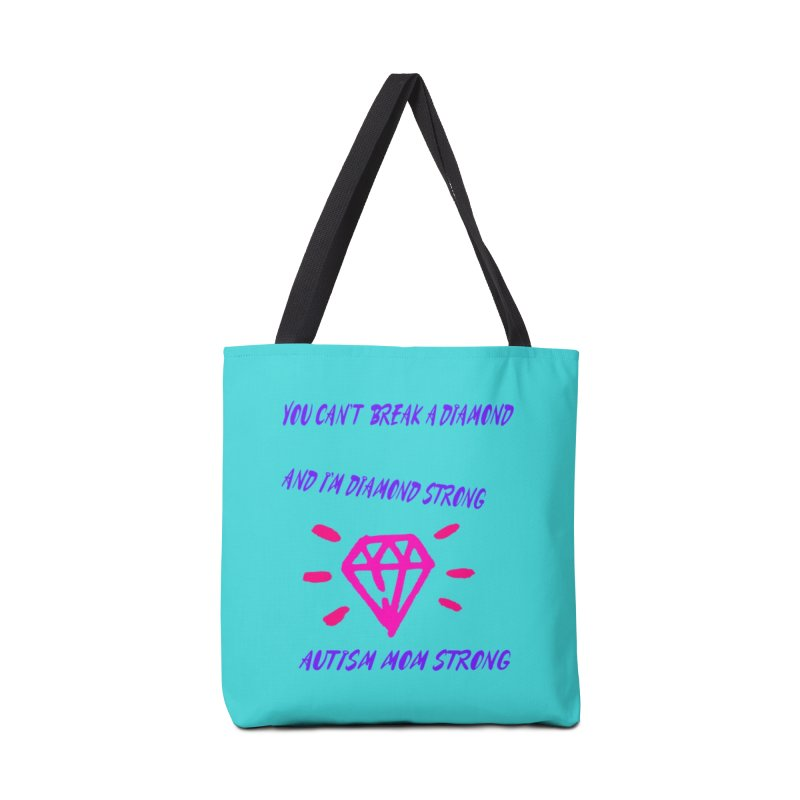 Diamond Strong Autism Mom Accessories Bag by Divinitium's Clothing and Apparel