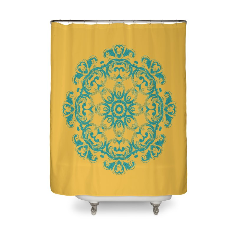 Serenity Home Shower Curtain by Divinitium's Clothing and Apparel