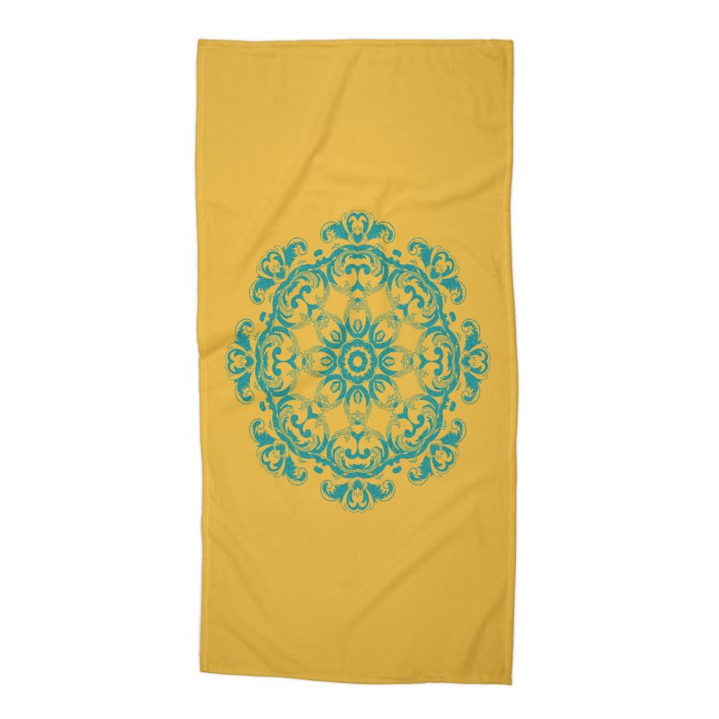 Serenity Accessories Beach Towel by Divinitium's Clothing and Apparel