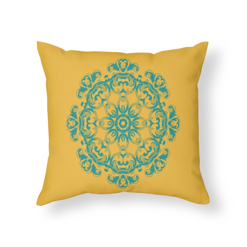 Serenity Home Throw Pillow by Divinitium's Clothing and Apparel