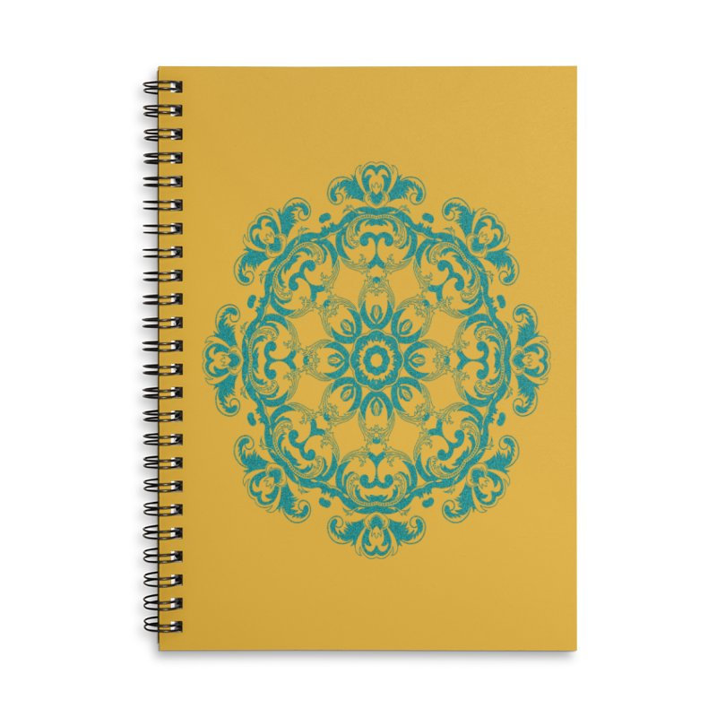 Serenity Accessories Lined Spiral Notebook by Divinitium's Clothing and Apparel