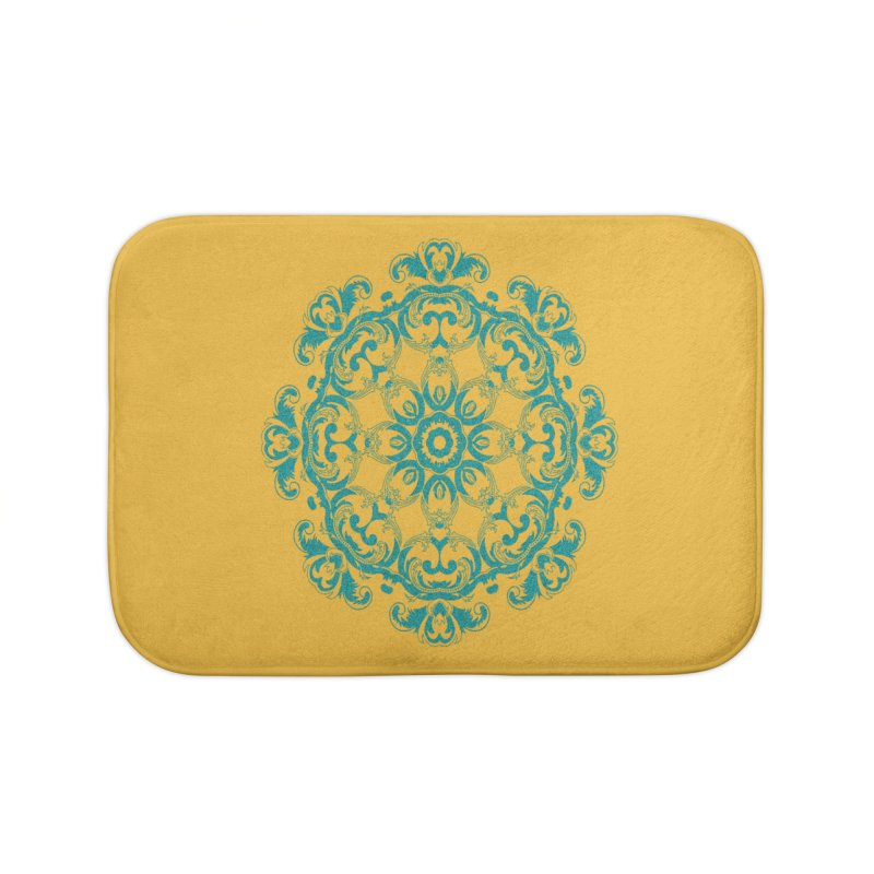 Serenity Home Bath Mat by Divinitium's Clothing and Apparel