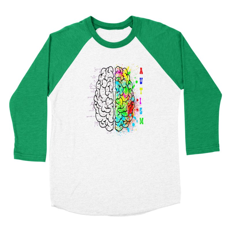 Autism Brain Men's Longsleeve T-Shirt by Divinitium's Clothing and Apparel