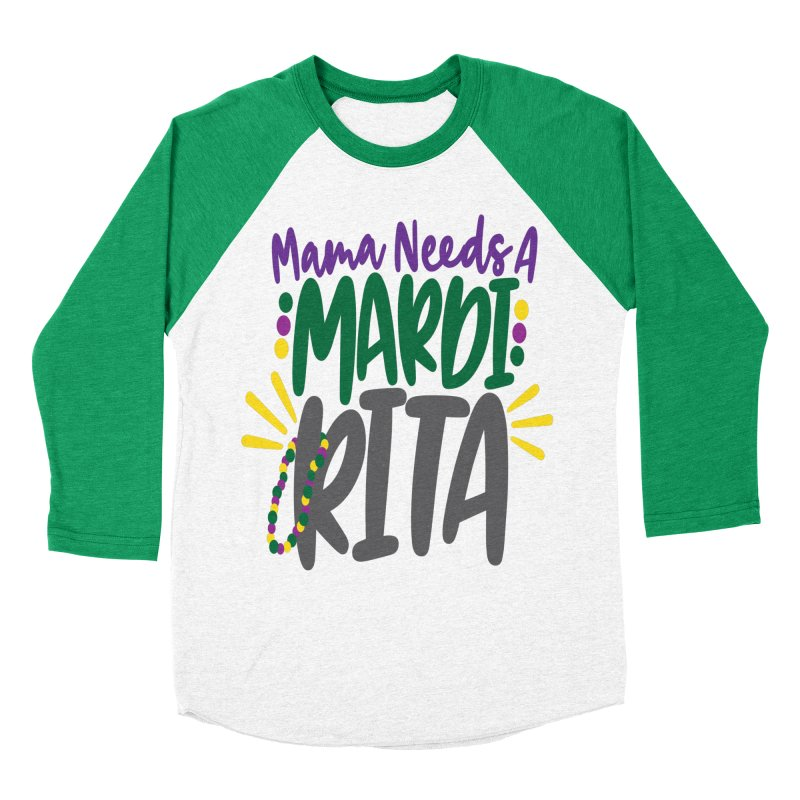 Mama Needs A Mardi Rita Women's Longsleeve T-Shirt by Divinitium's Clothing and Apparel
